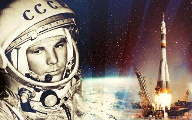 Юрий Гагарин - человек, первым полетевший в космос