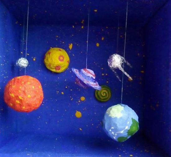 Поделка ко Дню космонавтики